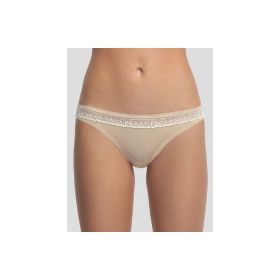 The ex-stylist in me knows that you shouldn't underestimate the power of a nude G-string. Visible panty-lines make my skin crawl and nude is the only colour you can wear under white clothing. Lingerie drawer must-have! — Marisa, publisher G-string, approx $30, Calvin Klein at Fig Leaves