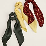 Armour Vert Simora Silk Scrunchies Set