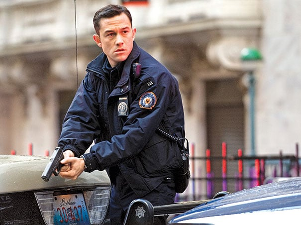 Joseph Gordon-Levitt in The Dark Knight Rises.