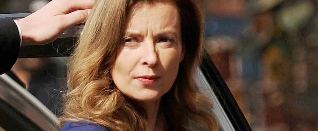 Bid Adieu to France's First Lady, Valérie Trierweiler