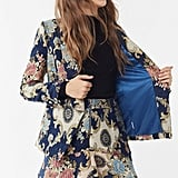 Urban Outfitters Moon River Jacquard Blazer