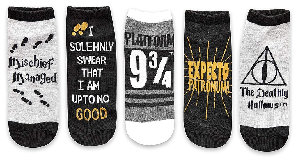 Harry Potter Deathly Hallows Ankle Sock Pack