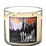 Flannel Three-Wick Candle