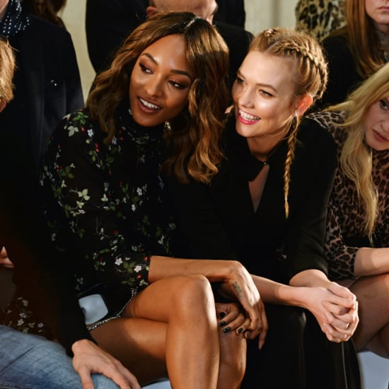 Celebrities Front Row at London Fashion Week Fall 2016