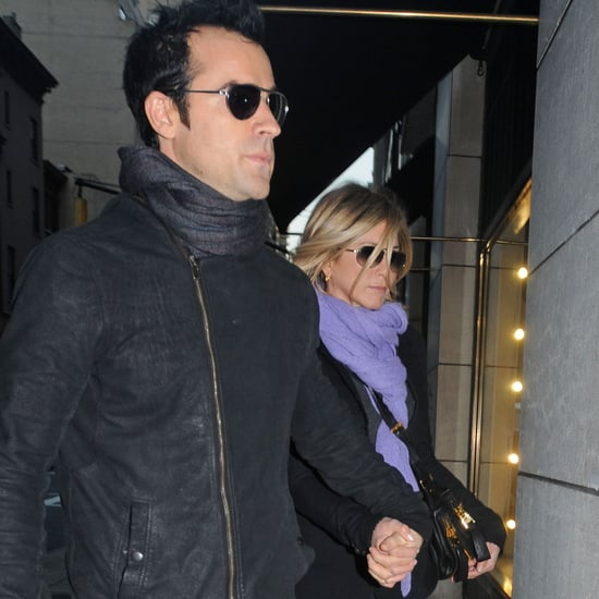Jennifer Aniston and Justin Theroux Dine in NYC Pictures