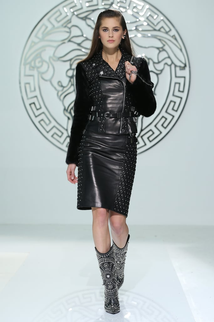 Autumn Winter 13 Milan Fashion Week: Versace Cara ...