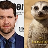 Who Plays Timon in The Lion King Reboot?