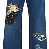 RED Valentino Design Patch Jeans ($1,495)