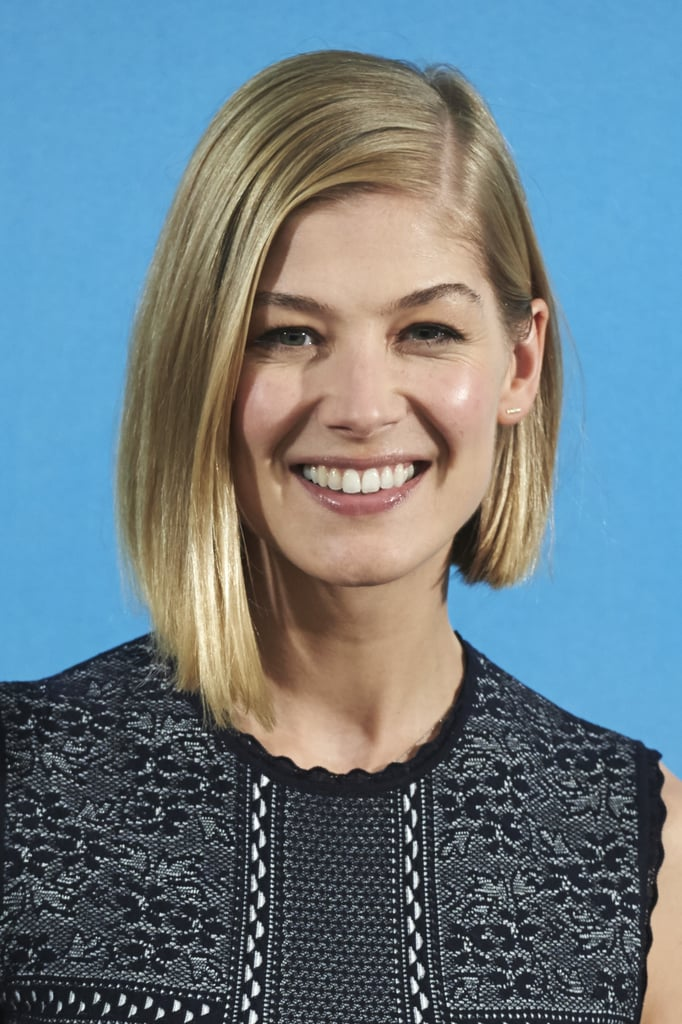 Rosamund Pike Best Bob Haircuts For All Hair Types Celebrity