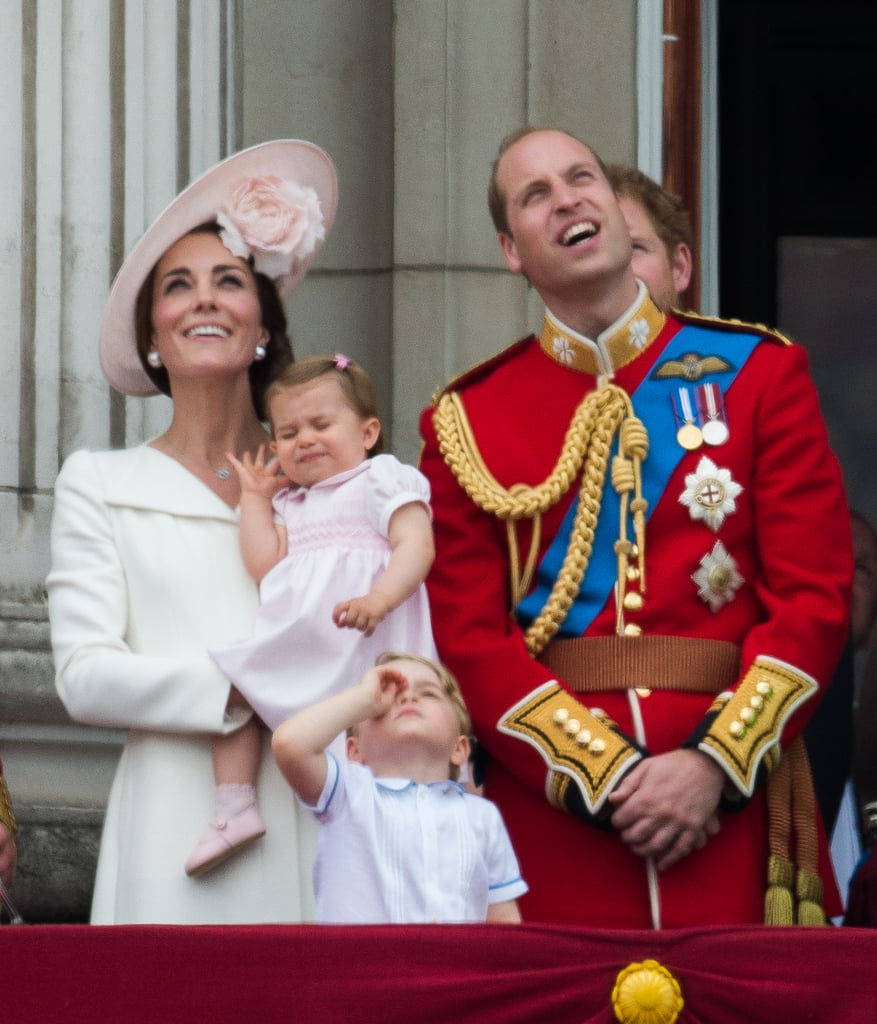 Looking Unimpressed: Princess Charlotte