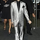 Arriving at a film premiere in London in 2007.
