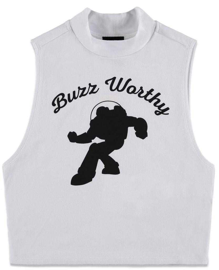 Pixar Buzz Worthy Crop Top ($13)