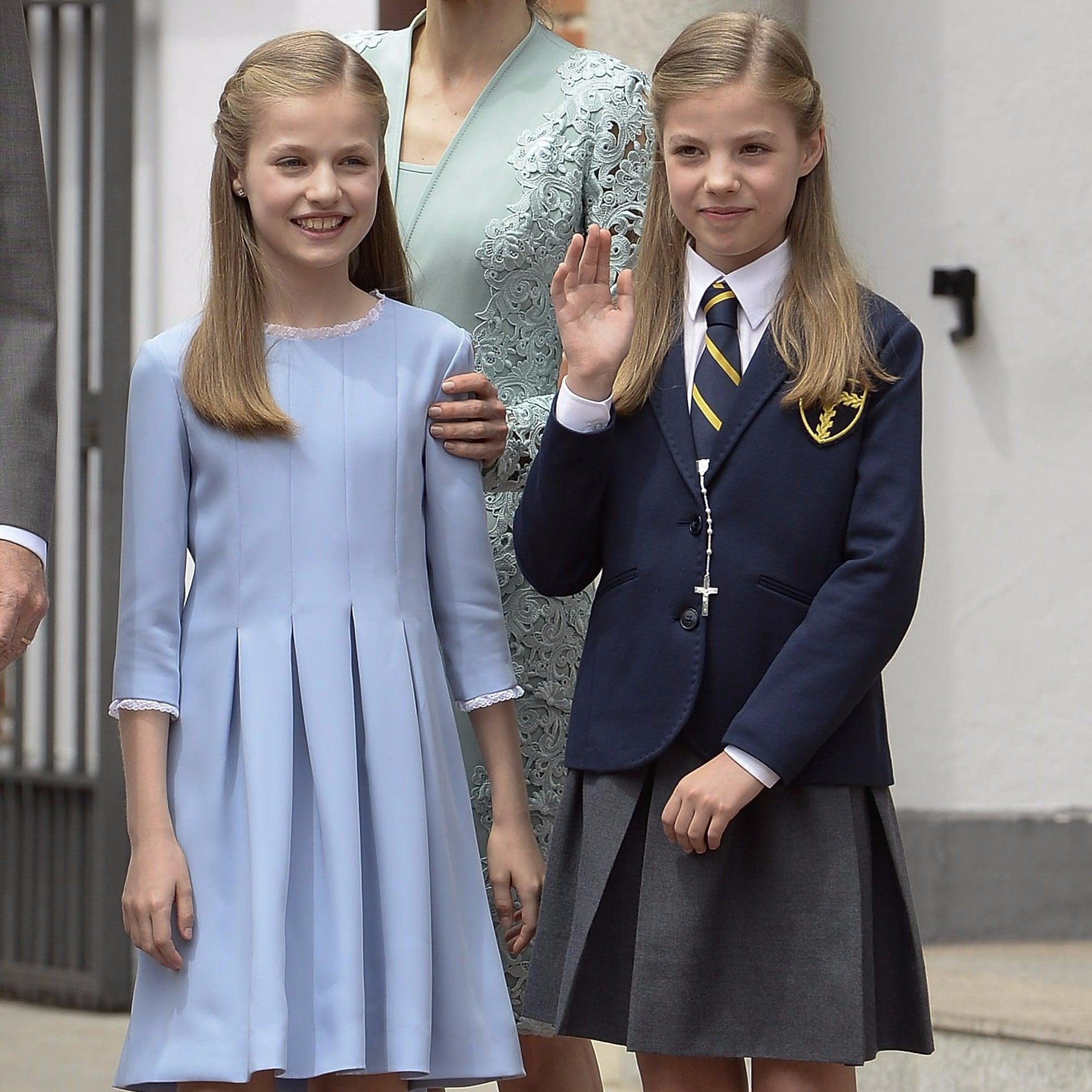 a15c5cd0b192 Princess Leonor and Infanta Sofia of Spain Through the Years ...