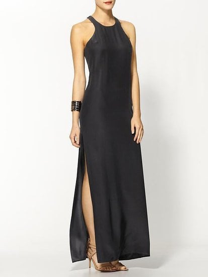 A slit gives this Amanda Uprichard silk maxi dress ($200, originally $260) a sexier feel that makes it a perfect option for your evening weddings. But don't be fooled: you can take this dress to your friend's wedding on the beach, to a rehearsal dinner in wine country, or just about anywhere with the right jewelry and footwear.
