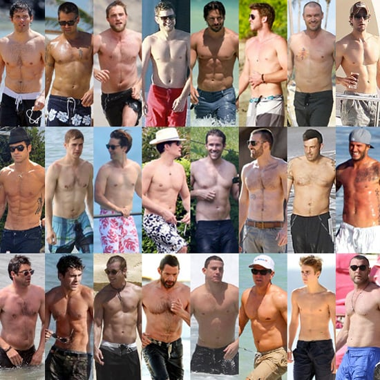 Shirtless Celebrities 2012 | Pictures