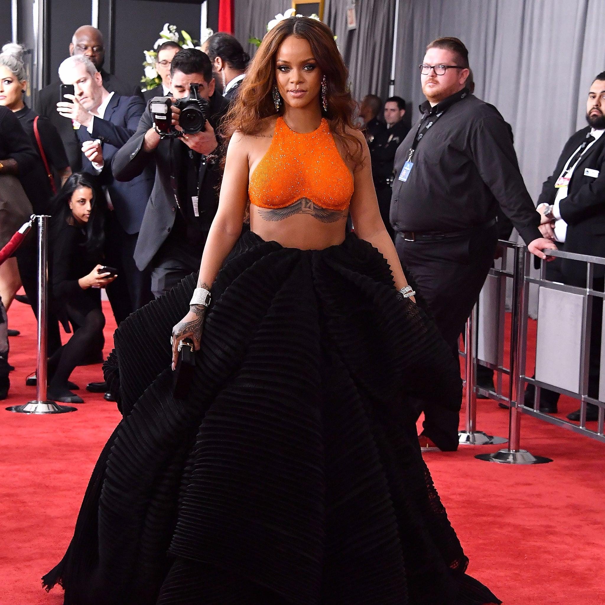 rihanna swarovski dress wwwpixsharkcom images