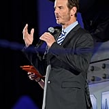 Director Peter Berg addressed the audience.