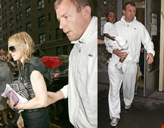 Photos of Madonna and Guy Together, Madonna Issues A Statement About Alex Rodriguez As His Wife Files for Divorce