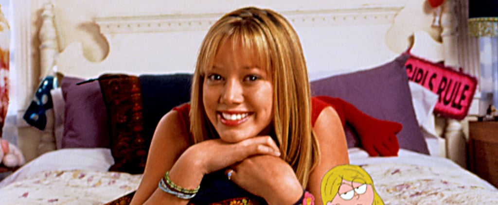 Hilary Duff With Bangs For the Lizzie McGuire Reboot