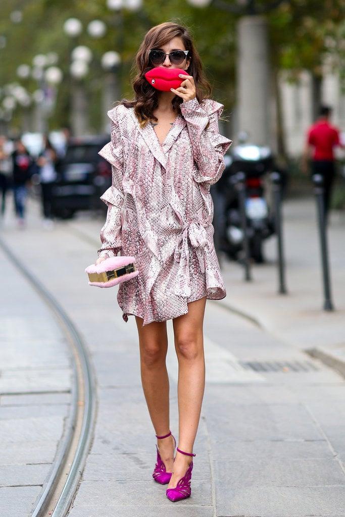 A Long-Sleeved Dress