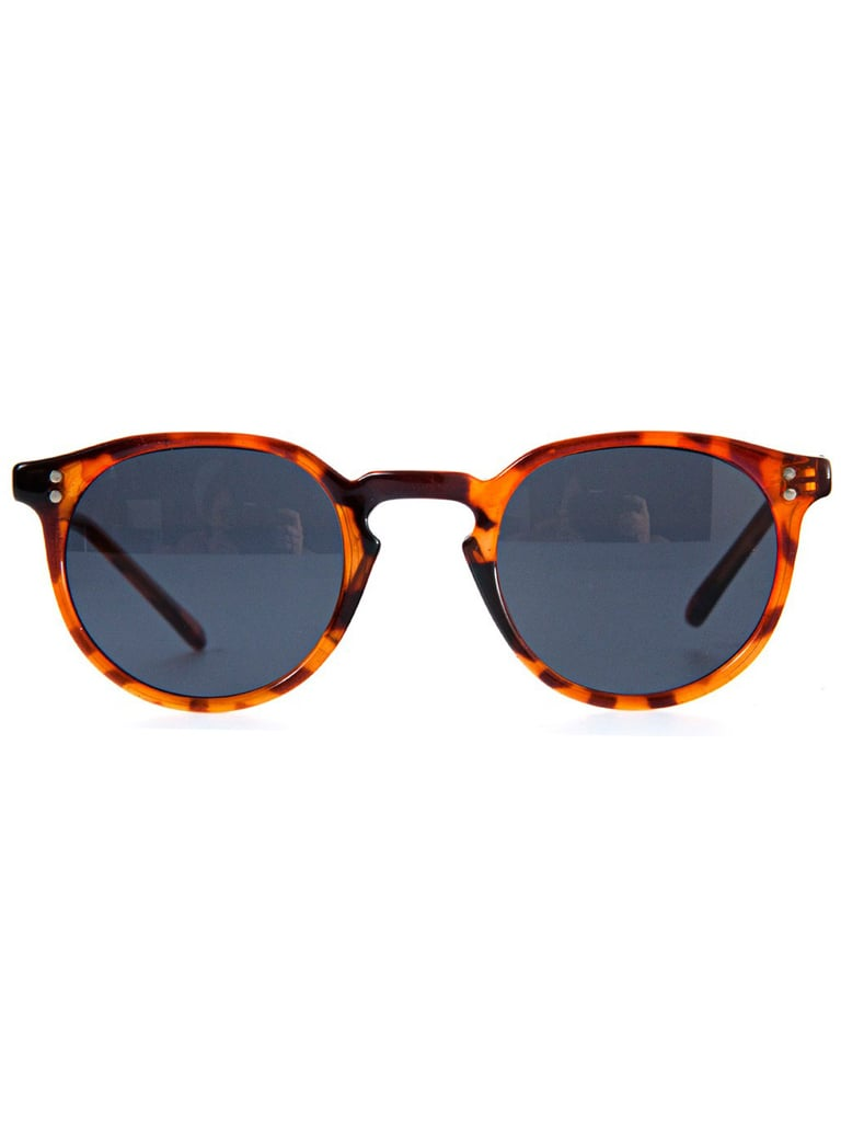 This vintage pair will lend a decidedly retro quality to all your Summer looks.  Brett Sunglasses ($25)