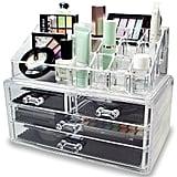 Ikee Design Acrylic Makeup Storage Set