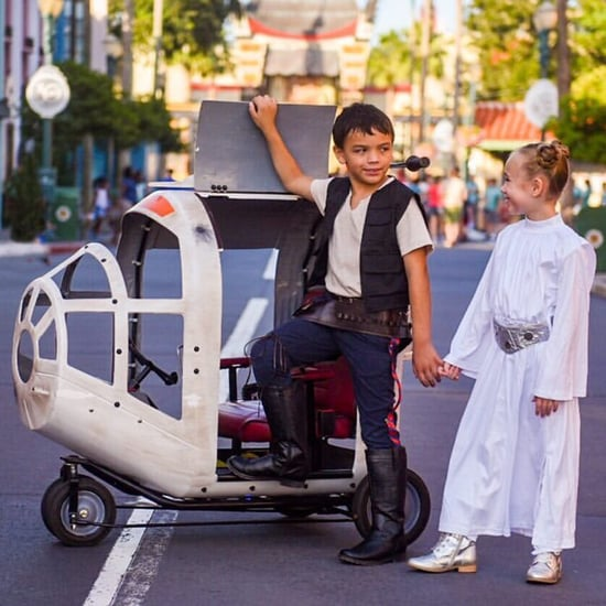 Spaceship Fantasy Strollers at Disney World