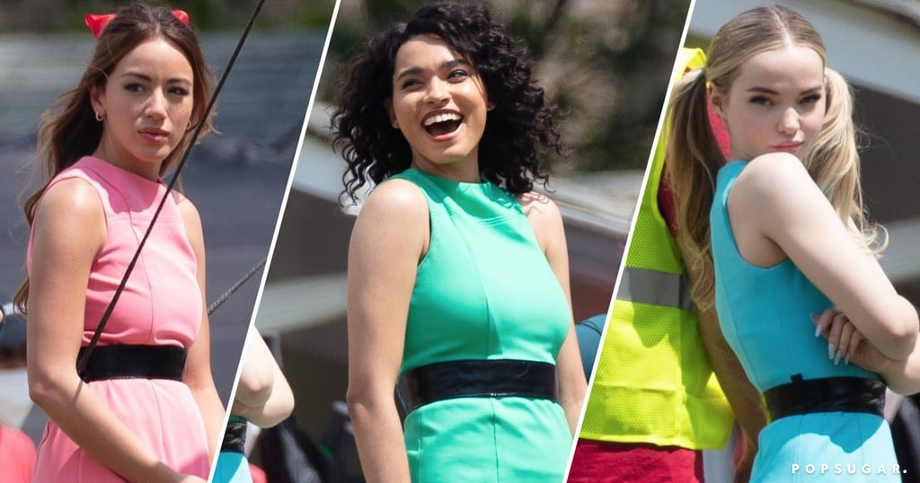 Live-Action Powerpuff Girls Reboot Costumes   Photos