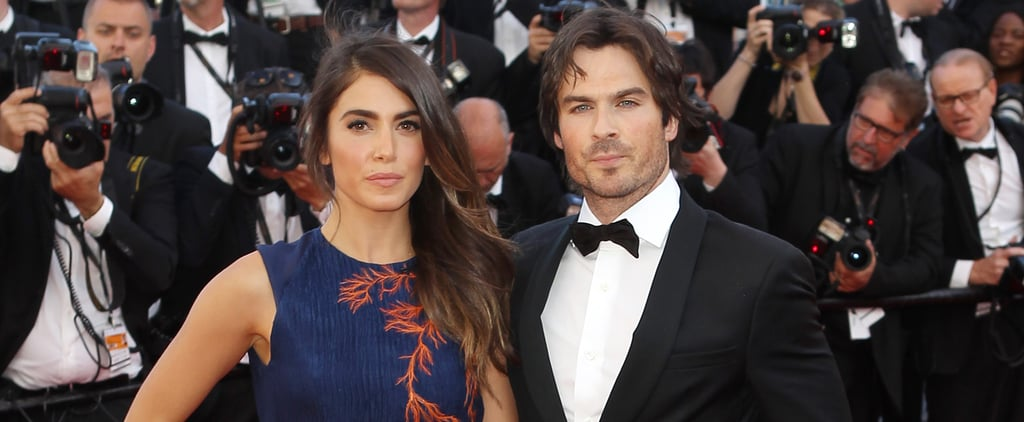 Nikki Reed and Ian Somerhalder Bring Their Newlywed Status to Cannes