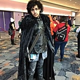 Jon Snow looks like he knows nothing.