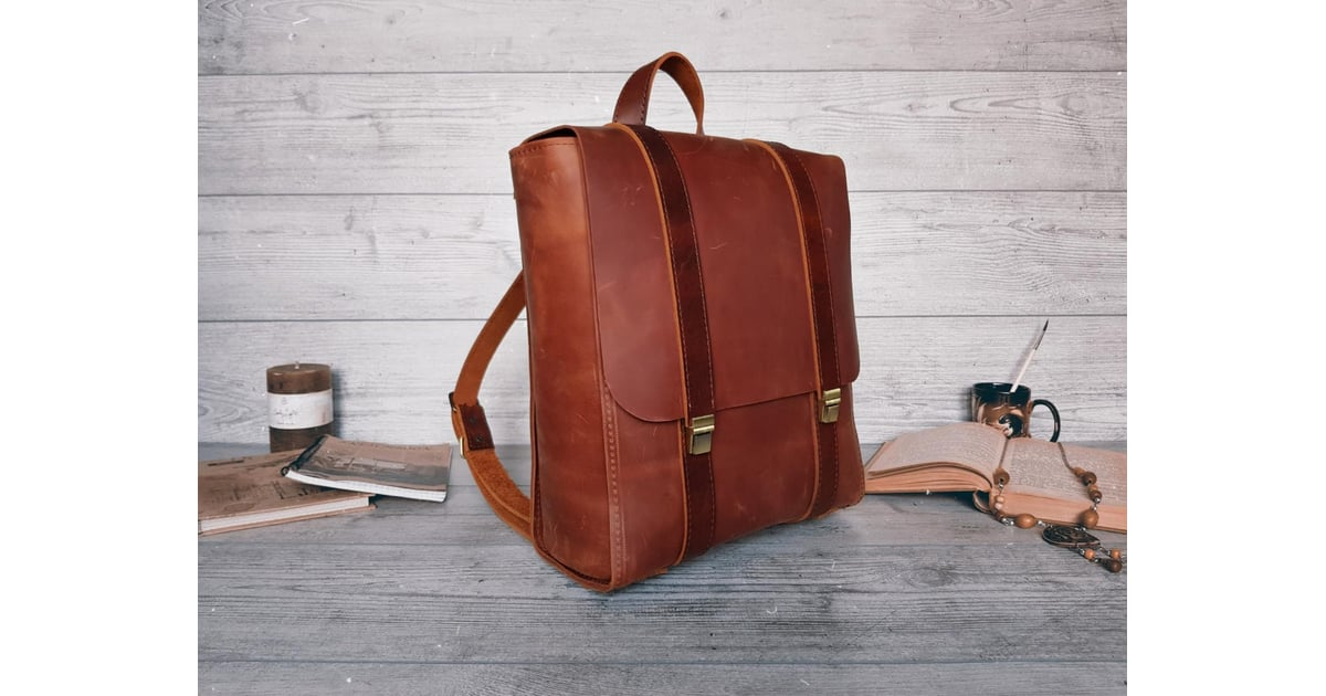 Personalized Leather Backpack | Best Etsy Cyber Monday ...