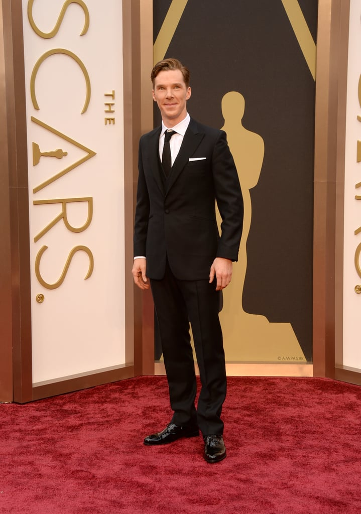 Benedict Cumberbatch Lands the Perfect Oscars Photobomb