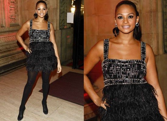 Alesha Dixon's Makeup at the 2008 National Television Awards