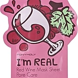 Tony Moly I'm Real Red Wine Mask Sheet