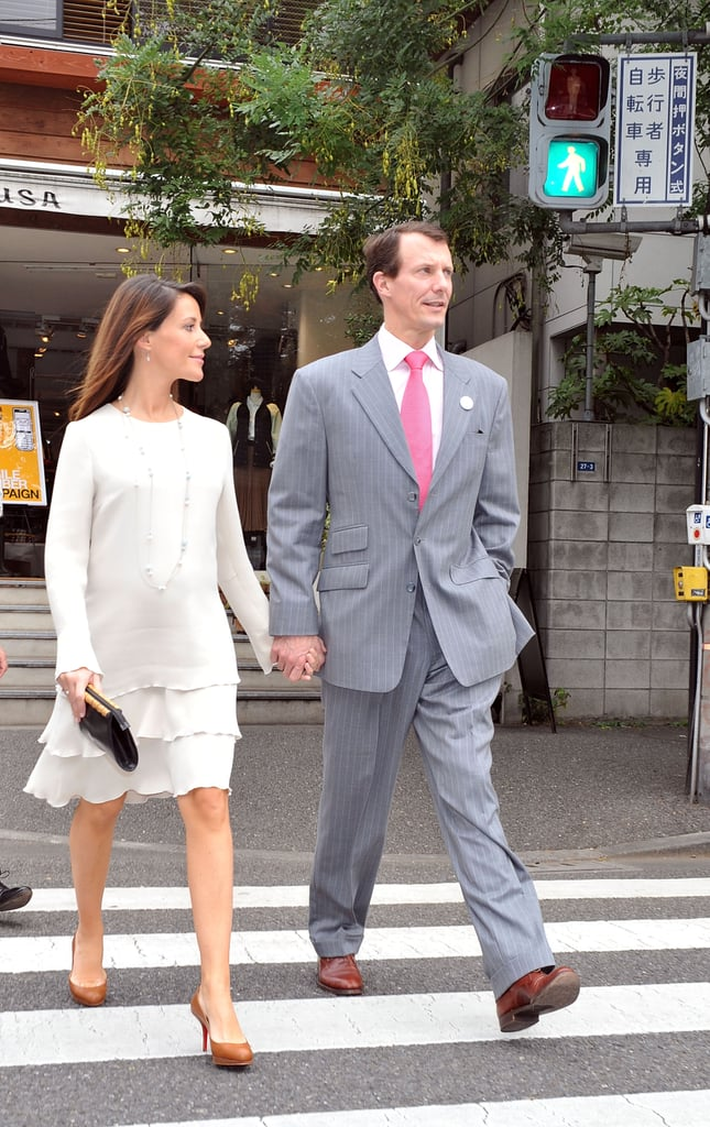 Princess Marie's Maternity Style Consisted of Breezy Tiered Numbers Like This