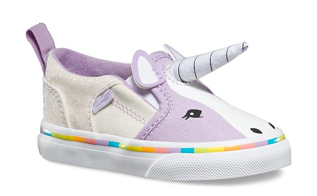 c9924664893 Vans Girls Asher V Unicorn Sneakers
