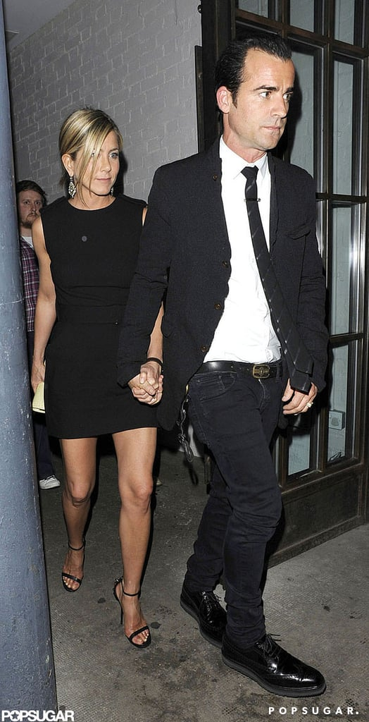 Jennifer and Justin left the Shoreditch House in London while she was overseas promoting Horrible Bosses in July 2011.
