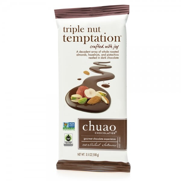 Chuao Chocolatier Triple Nut Temptation