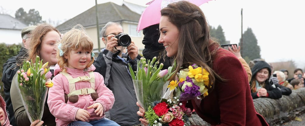 Kate Middleton Takes Time to Smell the Roses (Literally) During Her Latest Outing