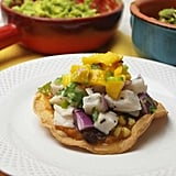 Ceviche Tacos With Black Bean and Corn Salsa