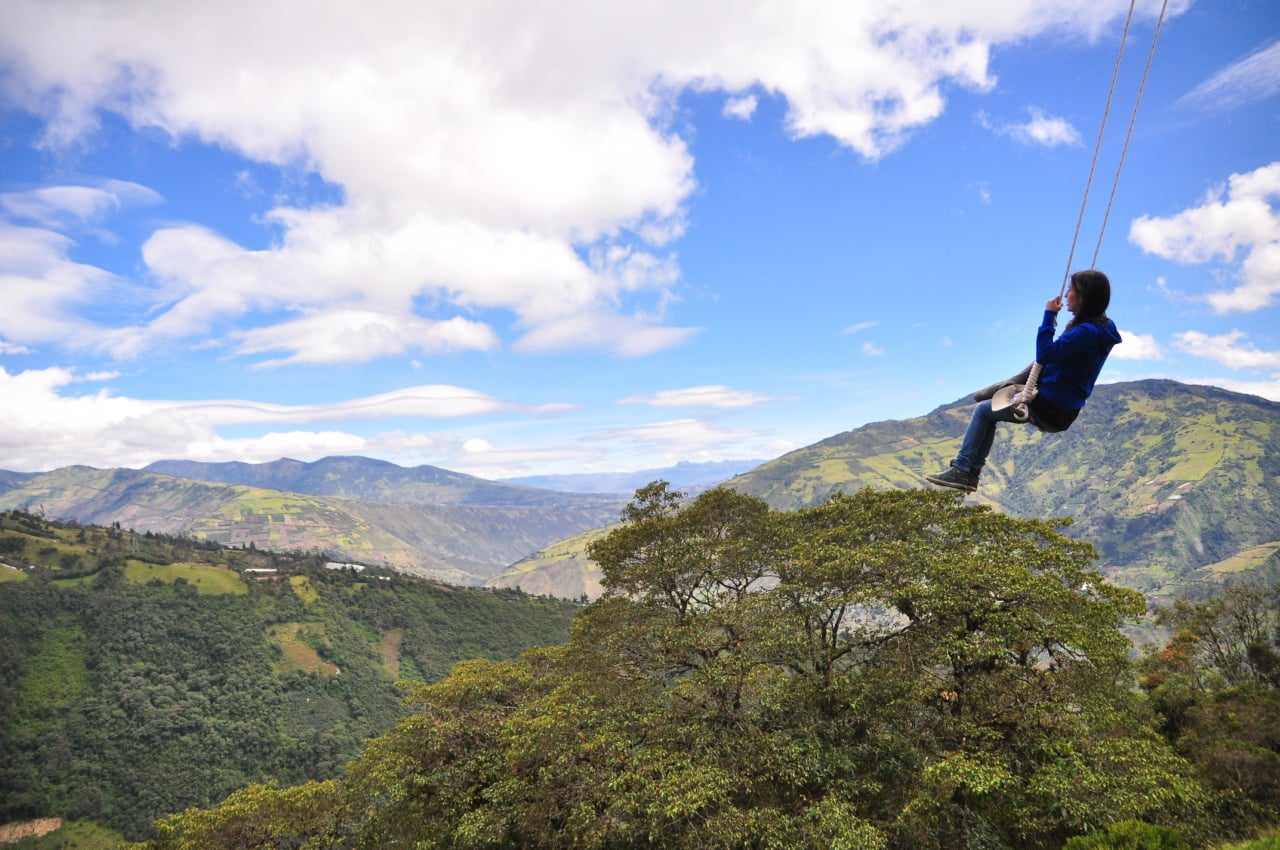 Edge of the World Swing, Ecuador