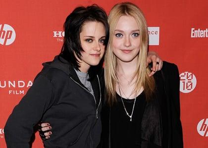 Kristen Stewart and Dakota Fanning attend 'The Runaways' Premiere at the 2010 Sundance Film Festival