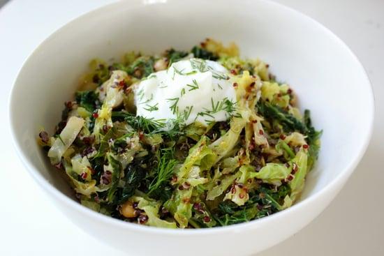 Quinoa Cabbage Salad Popsugar Fitness