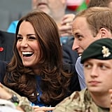 In July 2014, the couple were all smiles while attending the Commonwealth Games in Scotland.