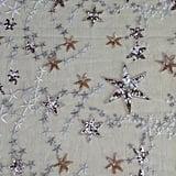Star Beaded Sequin Fabric