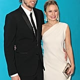 Dax Shepard and Kristen Bell were a happy couple on the red carpet.