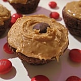 Almond Be There for You Brownie Cupcakes