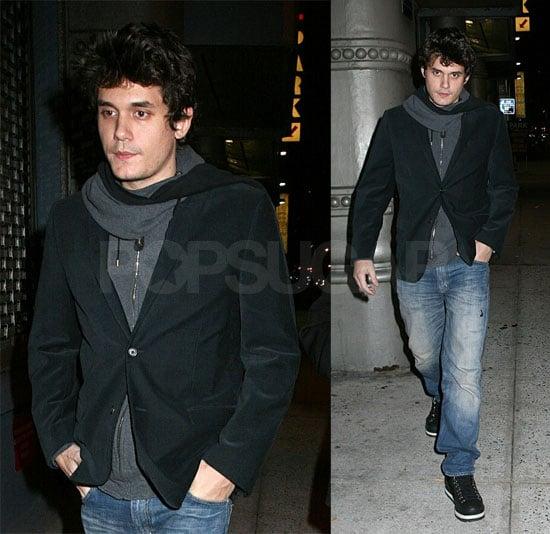 John Mayer Leaving Butter in NYC