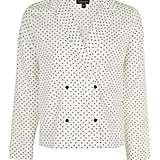 Ivory Cross Print Pyjama Shirt, $74.95