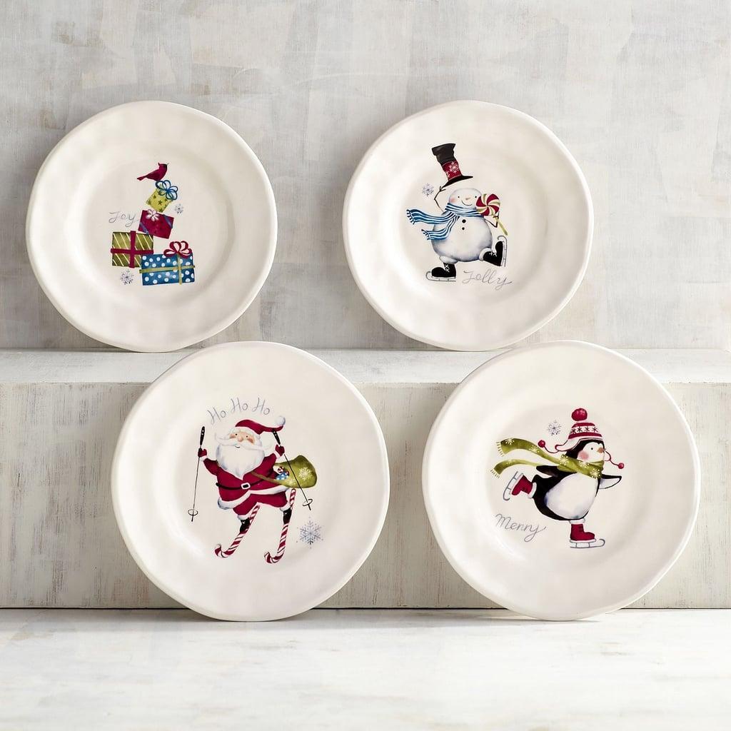 iconic christmas appetizer plates 20 for a set of four originally 25